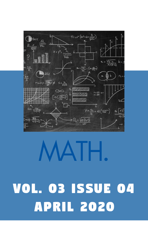 Gph-International Journal of Mathematics Vol. 03 Issue 04 2020