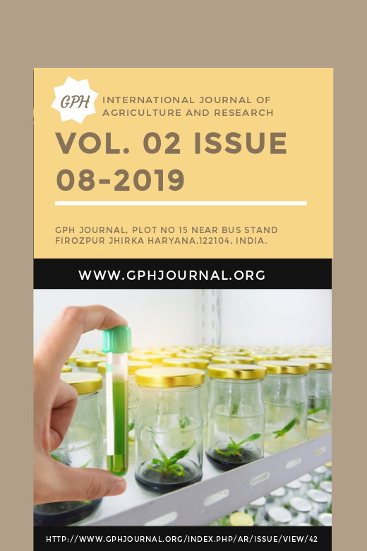 Gph-international Journal of Agriculutre and research